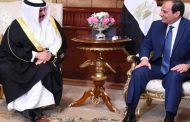 الرئيس السيسى وملك البحرين يؤكدان ضرورة التوصل إلى تسويات سياسية لأزمات المنطقة العربية