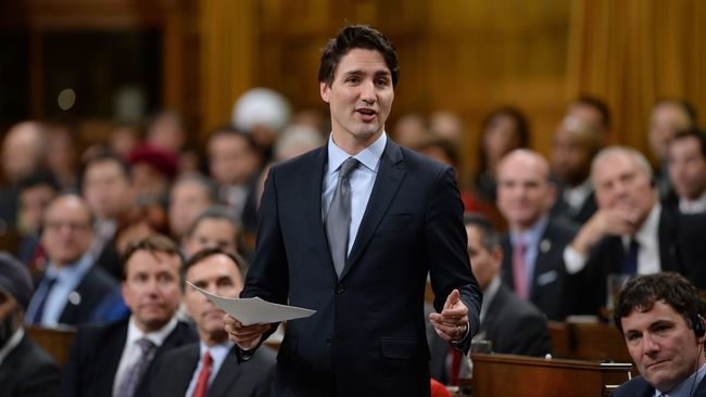 Justin Trudeau souligne l'entraide lors de la crise du verglas