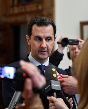 الرئيس السوري يكلف حسين عرنوس بتشكيل الحكومة