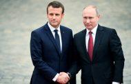"""ماكرون: استخدام الاسلحة الكيميائية في سوريا من أي طرف تجاوزا """"للخط احمر"""""""