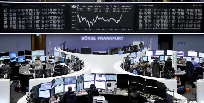 الأسهم الأوربية ترتفع بدعم من نستله والبنوك الإيطالية.