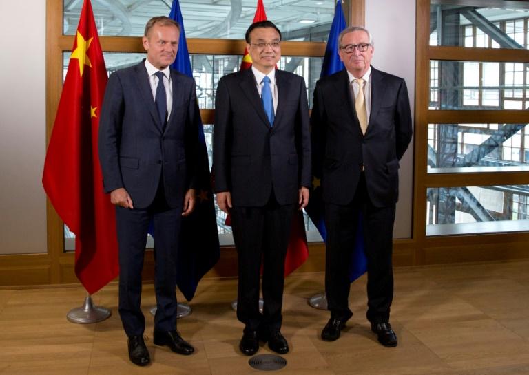 اجتماع أوروبي صيني لمكافحة التغيرات المناخية والولايات المتحدة تنسحب.