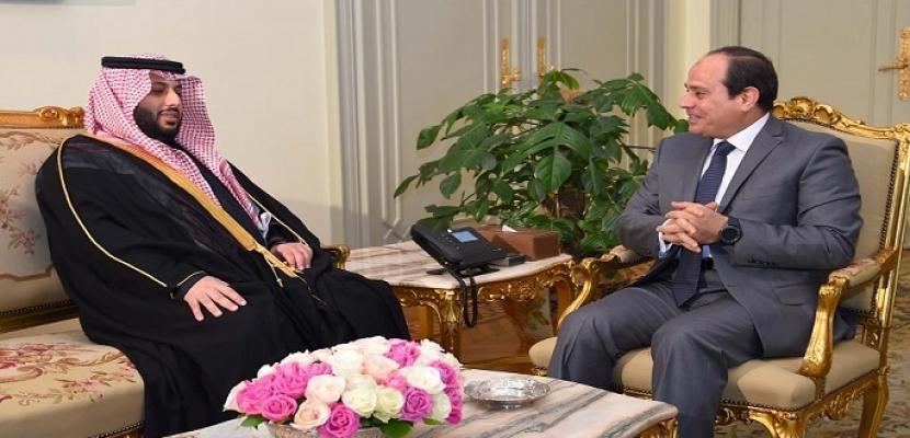تركى آل الشيخ يؤكد للسيسى دعم السعودية لمصر فى مواجهة الإرهاب
