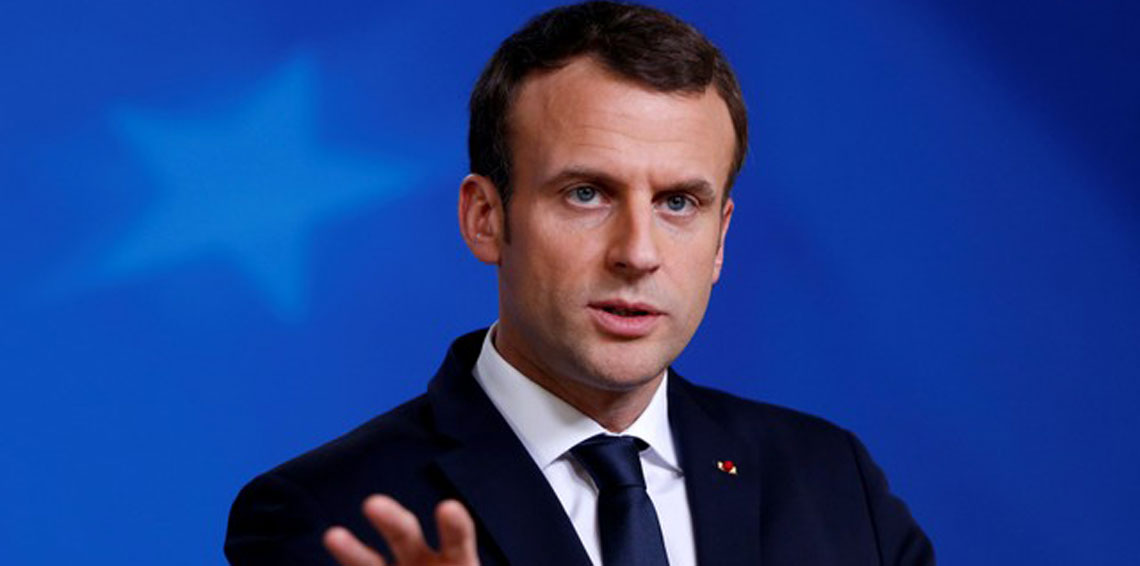 ماكرون في رسالة إلى عون: فرنسا تقف مع لبنان في كل الأوقات