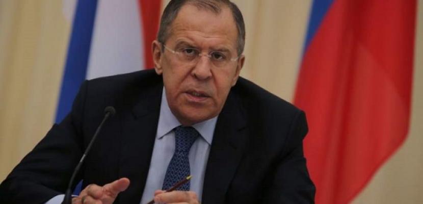 لافروف: لا نتمسك بأشخاص في سوريا.. وندعم التسوية الدبلوماسية للصراع