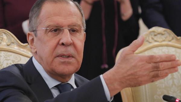 لافروف: نمتلك الدليل الدامغ  على ضلوع أجهزة استخباراتية أجنبية وراء اخراج مسرحية الهجوم الكيميائي في سوريا