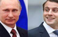 ماكرون و بوتين يؤكدان هاتفيا رغبتهما في الحفاظ على الاتفاق النووي الايراني
