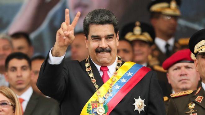 الرئيس الفنزويلي يصف نائب ترامب بأنه «أفعى سامة»