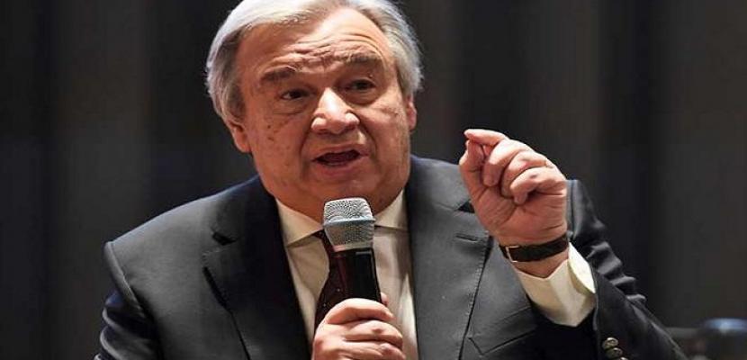 الأمين العام للأمم المتحدة يحث على دعم اتفاق أمريكا وكوريا الشمالية