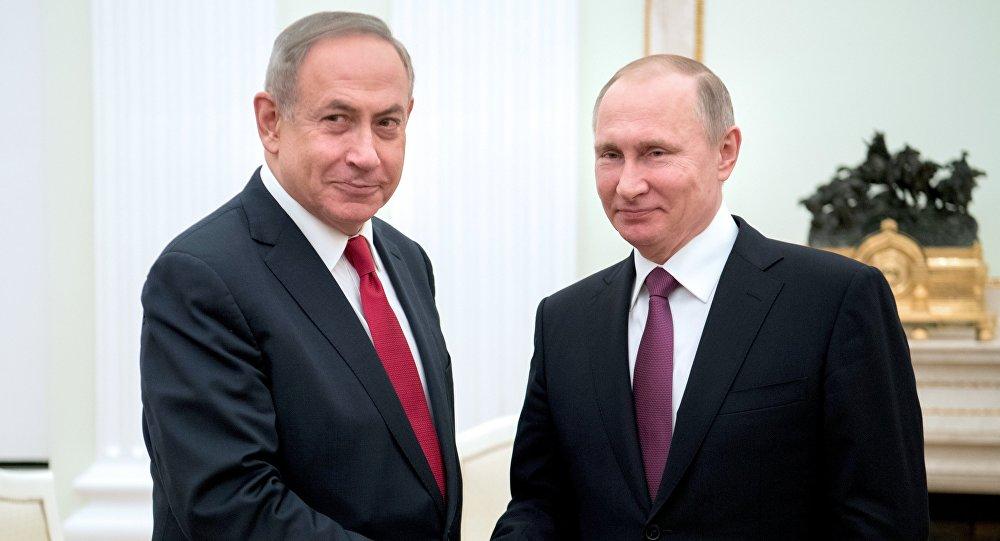 إسرائيل تسقط طائرة سورية بدون طيار ونتنياهو يجتمع مع بوتين في موسكو