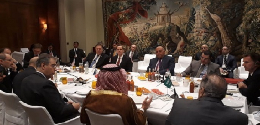 وزير الخارجية يشارك في اجتماع المجموعة الدولية المصغرة حول سوريا ببلجيكا