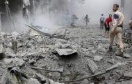 مقتل عشرات في ضربة جوية بدير الزور شرق سوريا