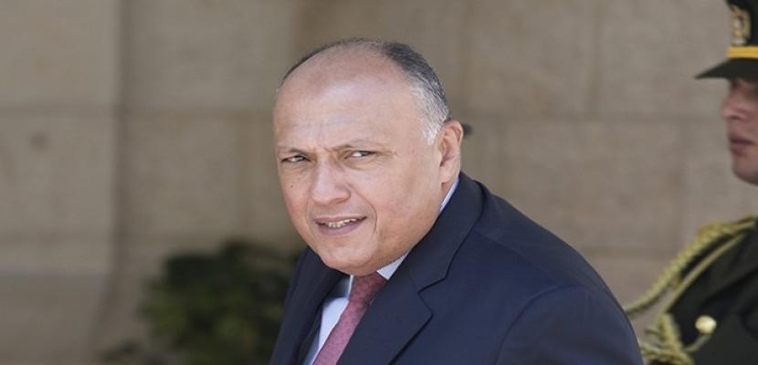 شكرى يتوجه إلى الصين للمشاركة في الاجتماع الوزاري لمنتدى التعاون العربي الصيني