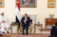 الرئيس السيسي يثمن جهود سلطان البهرة في ترميم المساجد الأثرية ومقامات آل البيت في مصر