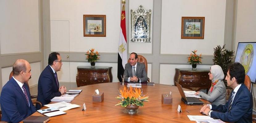 الرئيس السيسي يطلق أولى مراحل تطبيق المشروع القومى للتأمين الصحي الشامل