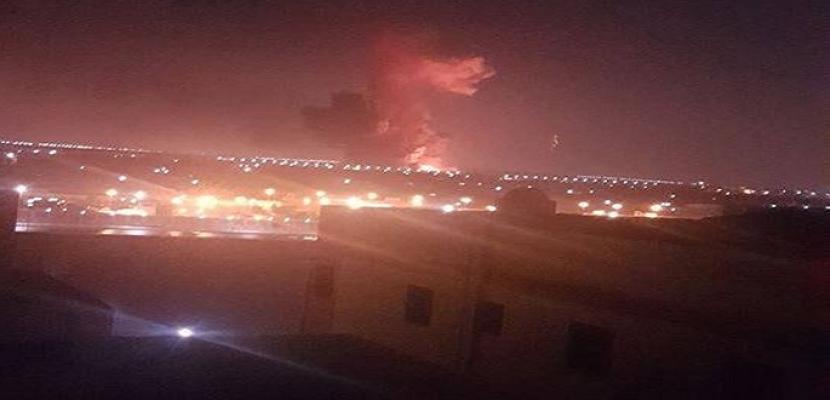 الحماية المدنية تسيطر على حريق مخزن شركة هليوبوليس للصناعات الكيمياوية .. ووزير الطيران يؤكد عدم تأثر الملاحة الجوية بمطار القاهرة