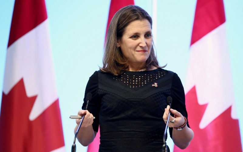 """كندا """"حريصة جدا"""" على الانتهاء من محادثات تجديد اتفاقية نافتا بسرعة"""