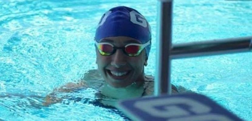 سميحة محسن تضيف ميدالية فضية لرصيد مصر في بطولة إفريقيا للسباحة
