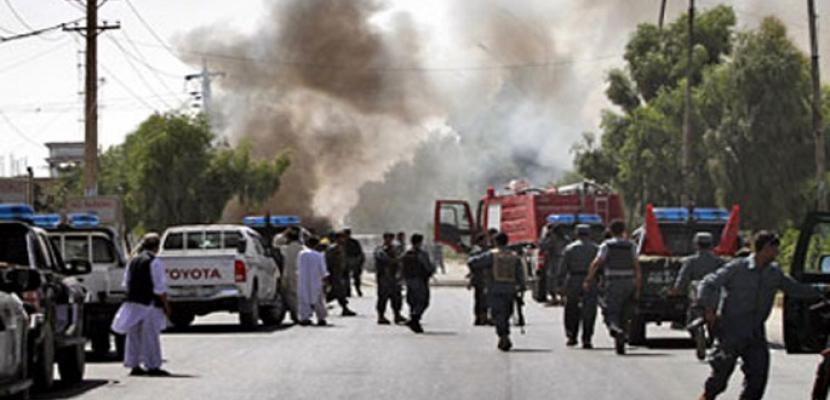عشرات الضحايا في انفجار انتحاري بأفغانستان