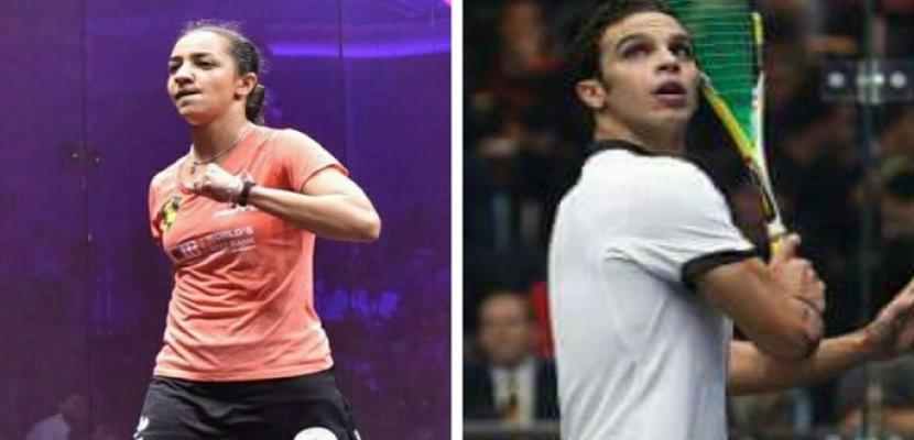 أبو الغار والوليلي يحصدان لقب بطولة الصين المفتوحة للإسكواش