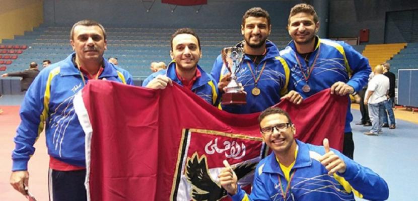 الأهلى يتوج ببطولة الجمهورية لألعاب القوى بـ26 ميدالية