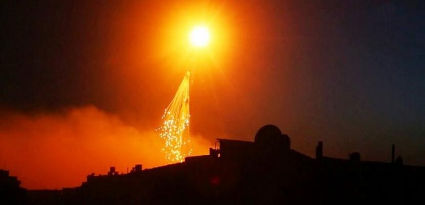 البنتاجون ينفى الاتهامات الروسية باستخدامه قنابل فوسفورية فى دير الزور السورية