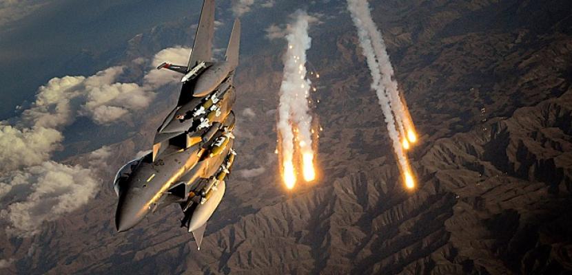غارات للتحالف الدولى على معاقل داعش بريف دير الزور