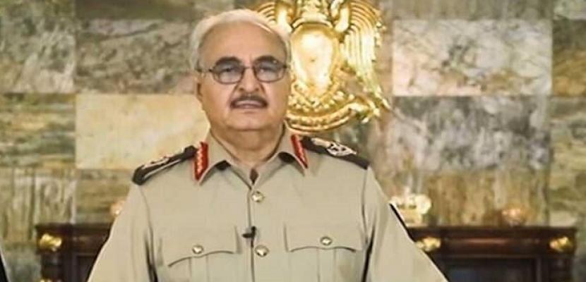حفتر: قطر حاولت إثارة الفتنة بين ليبيا والجزائر