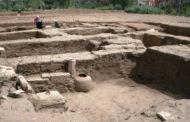 الآثار: اكتشاف مبنى أثري ضخم بحوض الدمرداش بميت رهينة