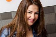 """دنيا سمير غانم تعبر عن سعادتها للمشاركة فى مبادرة """" مدرسة"""" بدبى"""