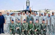 الرئيس السيسي يتفقد إحدى القواعد الجوية ومشروع مستقبل مصر