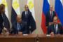 السيسي وبوتين يوقعان اتفاقية الشراكة الشاملة والتعاون الاستراتيجي بين الدولتين