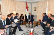 الرئيس السيسى يبحث مع وزير الخارجية الالمانى تعزيز التعاون المشترك