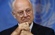 دي ميستورا يتنحى كمبعوث أممي إلى سوريا في نهاية نوفمبر