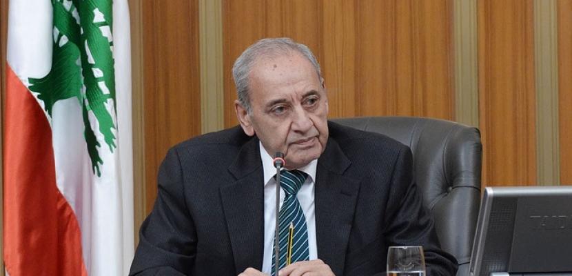بري: ملف تشكيل الحكومة اللبنانية الجديدة لم يتقدم مترا واحدا