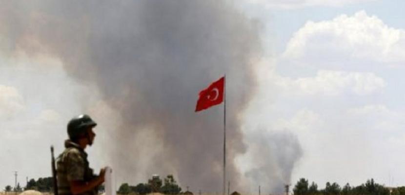 مقتل جندي تركي وإصابة 4 آخرين بقصف صاروخي من الأراضي العراقية