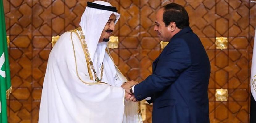 خادم الحرمين الشريفين يهنيء الرئيس السيسي بذكرى نصر أكتوبر
