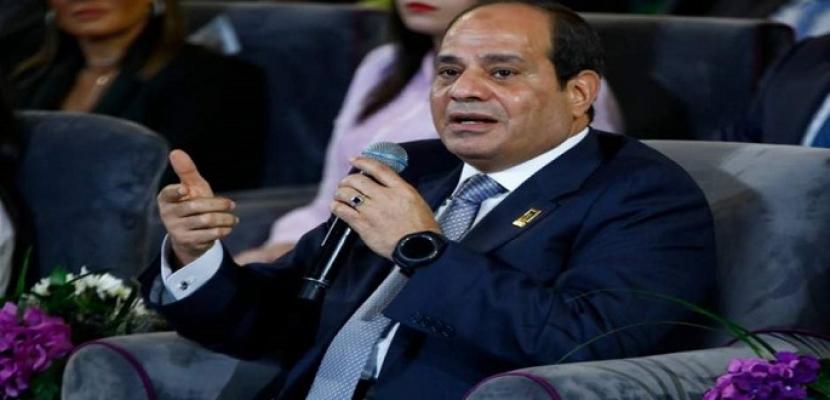 الرئيس السيسى يفتتح اليوم الملتقى العربى الأول لمدارس الدمج فى شرم الشيخ