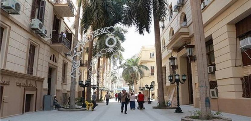 50 فناناً يرصدون غدا الطراز المعماري لشارع الشريفين
