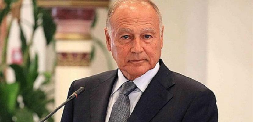 أبو الغيط يستقبل عزام الأحمد ويناقش معه ملف المصالحة الفلسطينية
