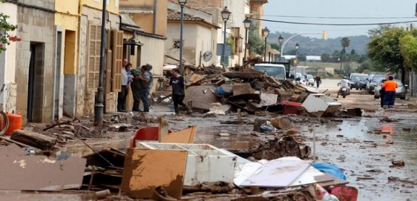 ارتفاع عدد قتلى فيضانات مايوركا الإسبانية إلى 12