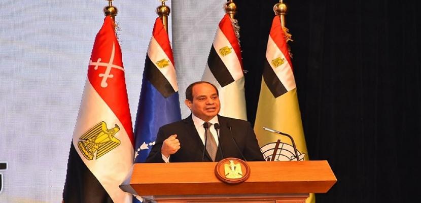 السيسي يشهد فعاليات الندوة التثقيفية الـ 29 للقوات المسلحة.. ويقول: لم نفقد الإرادة بعد 67 وعملنا على إعادة بناء الجيش