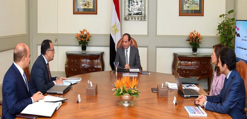 الرئيس السيسي يوجه بالانتهاء من خطوات تشكيل صندوق مصر السيادي وفقاً لأحدث المعايير