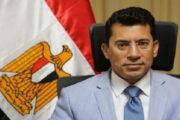 صبحي يهنئ كيشو ومنيع بعد فوزهما بذهبية وبرونزية بطولة العالم للمصارعة للشباب