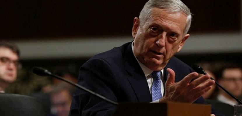 """ماتيس: إرسال جنود إلى الحدود لمواجهة قافلة المهاجرين """"ضروري"""""""