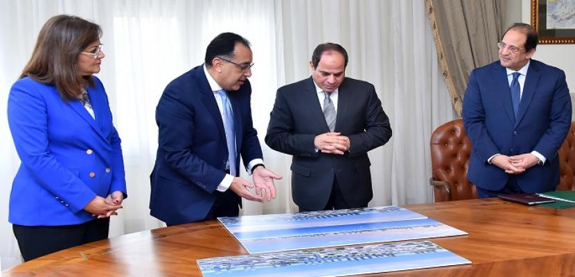 الرئيس السيسي يوجه باستمرار الجهود للانتهاء من تشكيل صندوق مصر السيادي