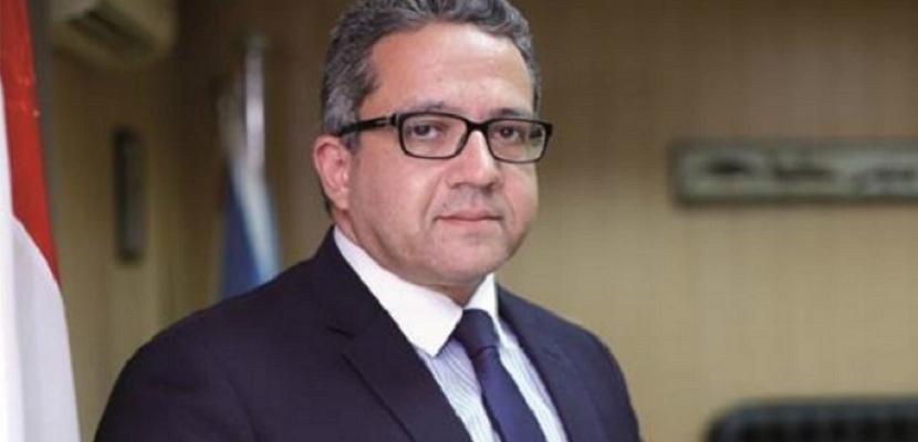 وزير الآثار يتفقد متحف شرم الشيخ القومي