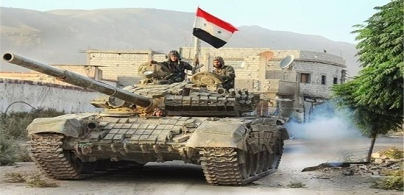 الجيش السوري يحبط تسلل إرهابيين باتجاه نقاط عسكرية بريف حماة