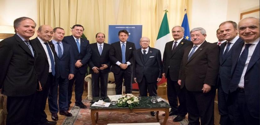 """الحكومة الإيطالية: نتائج قمة باليرمو بشأن الأزمة الليبية """"تفوق التوقعات"""""""