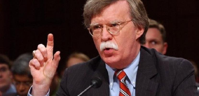 مستشار الأمن القومي الأمريكي: سنعتصر إيران بشدة